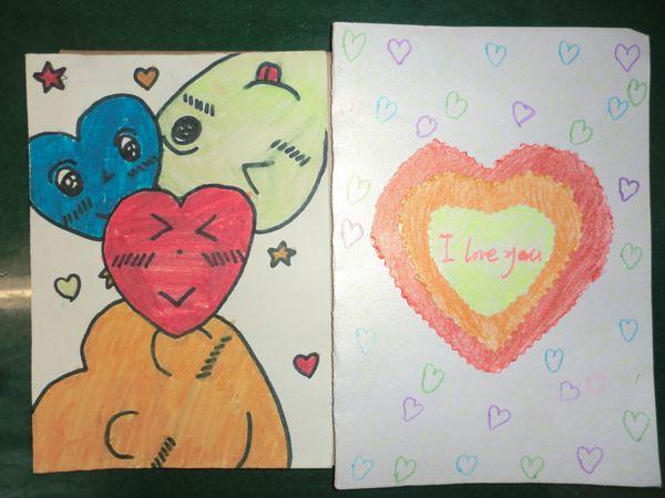 爱学习懂礼仪儿童画